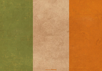 Grunge Flag of Ireland - Free vector #390543