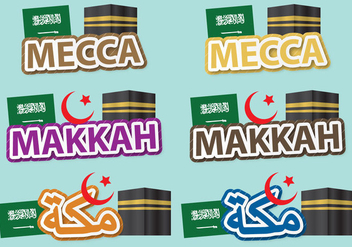 Mecca Titles - vector gratuit #390773