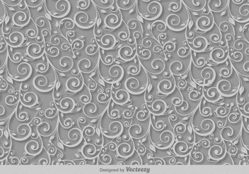 Scrollwork Vector Pattern - Free vector #391713