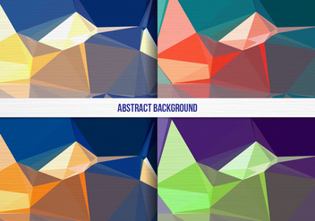 Free Vector Colorful Geometric Background Collection - Free vector #391873