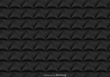Vector seamless pattern with black triangles - vector gratuit #392063