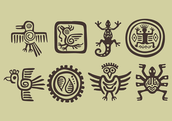 Vector Incas Icons - бесплатный vector #392223