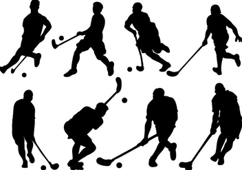 Free Floorball Icons Vector - бесплатный vector #392603