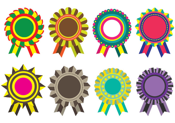 Cockade Icons - vector #392673 gratis