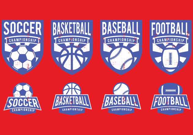 American Sports Badge - Free vector #392793