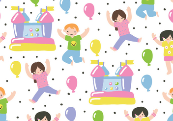Children Party - vector gratuit #392823