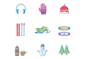 Free Winter Icon - vector #392833 gratis