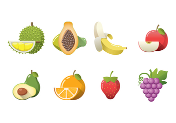 Free Fruits Vector - бесплатный vector #392923