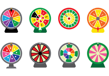 Spinning Wheel Vector - vector gratuit #393373