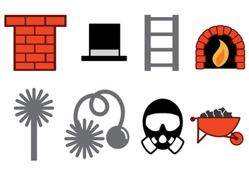 Chimney Sweep Vector - Free vector #393413