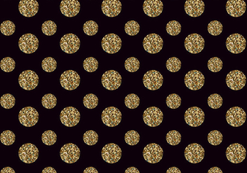 Free Vector Glitter Dots Pattern - Kostenloses vector #393553