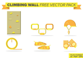 Climbing Wall Free Vector Pack - бесплатный vector #393583