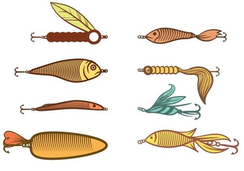 Free Fishing Lure Vector - Free vector #393673