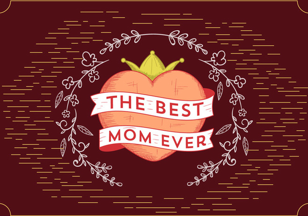 Free Vector Mother's Day - vector gratuit #393873