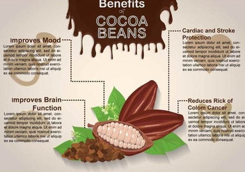 Free Cocoa Bean Illustration - vector gratuit #394003