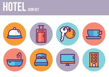 Free Hotel Icons - Free vector #394103