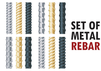 Rebars Vector Illustration - Free vector #394123
