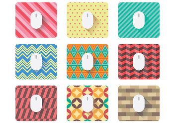 Free Mouse Pad Icons Vector - Kostenloses vector #394253