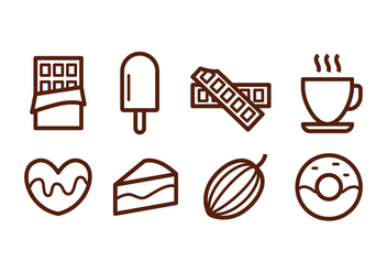 Free Chocolate Icons - vector #394483 gratis