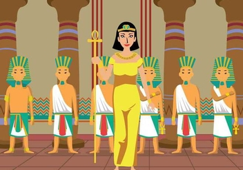 Free Cleopatra Illustration - Kostenloses vector #394523