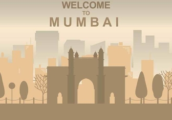 Free Mumbai Illustration - бесплатный vector #394723