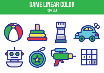 Free Game Icon Set - vector gratuit #394733