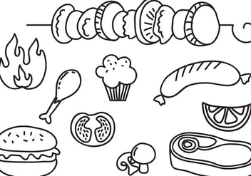 Free Barbeque Vectors - vector #394993 gratis