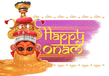 Happy Onam Vector - vector gratuit #395033