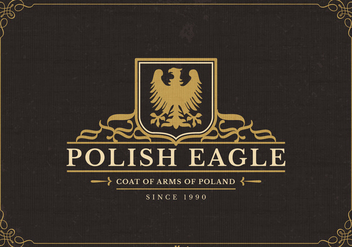 Free Polish Eagle Vector Logo - Kostenloses vector #395423