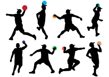 Free Dodge Ball Icons - vector gratuit #396173
