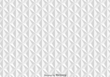 Vector pattern with white triangles - бесплатный vector #396473