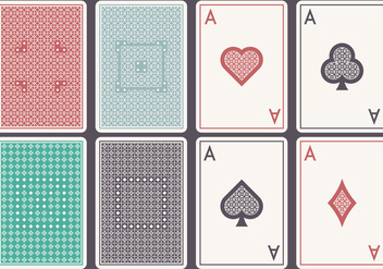 Aces Card Set - Free vector #396883