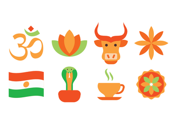 Free India Icon Set - vector gratuit #396913