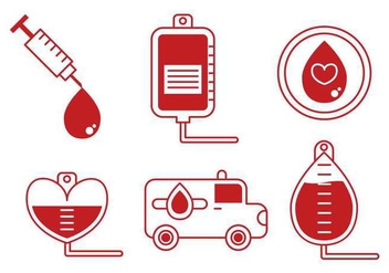 Blood Drive Vector - vector gratuit #396923