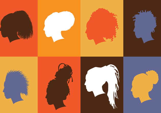 African Women Silhouette - Free vector #396933