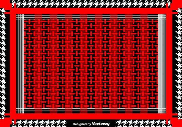 Vector Keffiyeh Vector Pattern - бесплатный vector #397063
