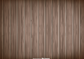 Wooden Planks Background - vector #397093 gratis