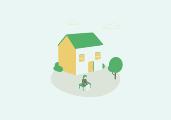Household Illustration - vector gratuit #397223