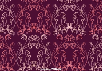 Vintage Purple Pattern - vector gratuit #397423