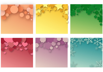 Free Abstract Background Vector - Free vector #397443