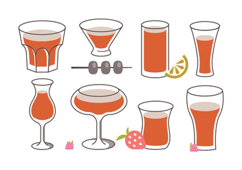 Sangria Vector Pack - бесплатный vector #398593