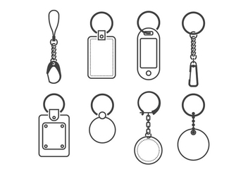 Key Holder Vectors - vector gratuit #398923