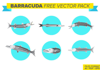 Barracuda Free Vector Pack - бесплатный vector #398953