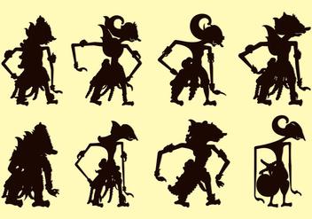 Wayang Arjuna Illustration Free Vector Download 407779 Cannypic