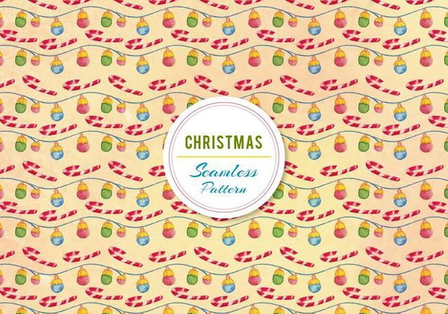 Christmas Ornament and Candy Cane Vector - Kostenloses vector #399463
