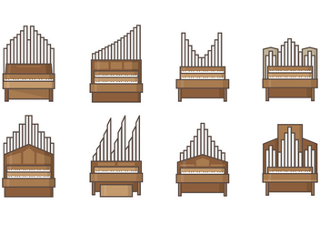 Free Pipe Organ Vectors - бесплатный vector #400133