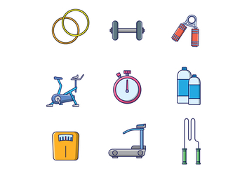 Free Fitness Vector - Free vector #400143