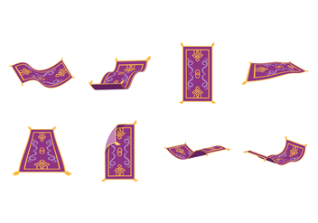 Free Magic Carpet Vector - vector gratuit #400223