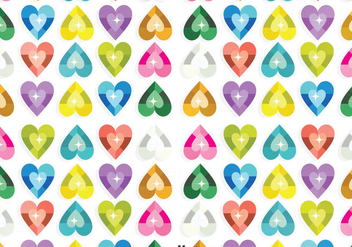 Heart Sequin Background - vector gratuit #401273
