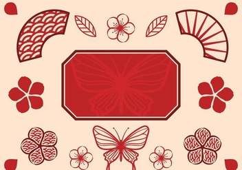Free Chinese Wedding Vector - vector gratuit #401423